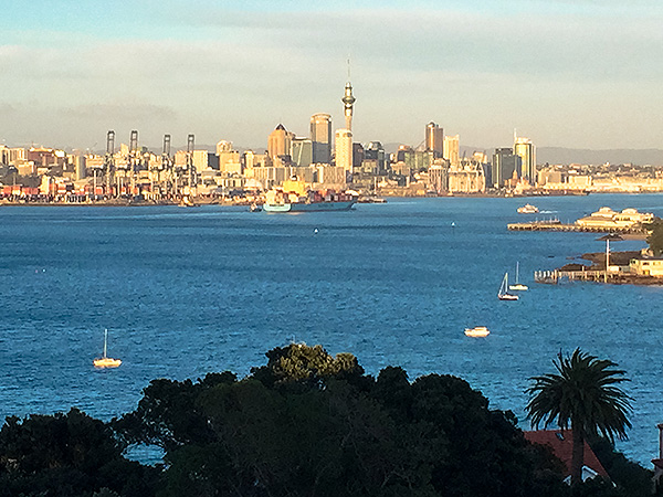 Auckland skyline from North Head Devonport