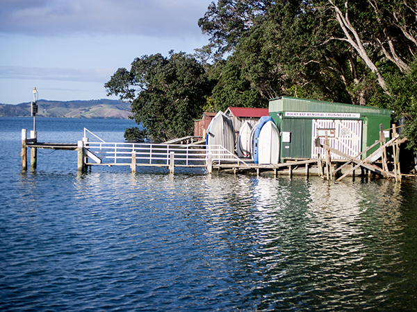 Rocky Bay Boatsheds
