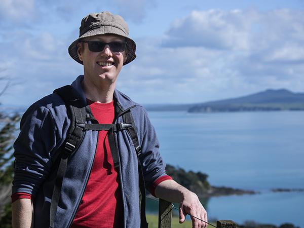 Andrew Waiheke Island bushwalk