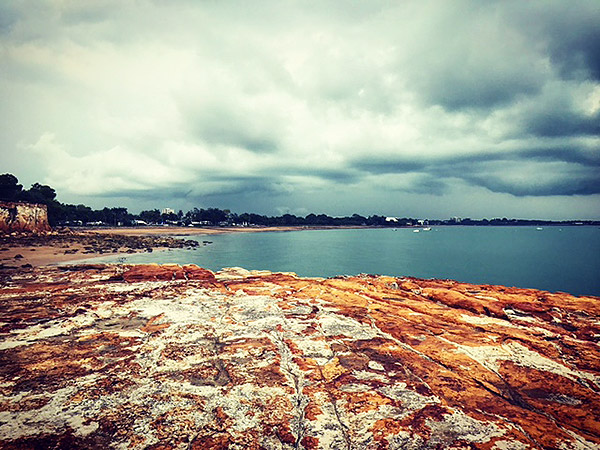 Storm approaches at Fannie Bay Darwin