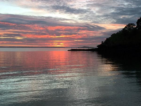 Sunet from Fannie Bay Darwin Northern Territory