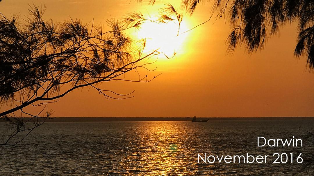 Darwin Sunset from Mindl Beach