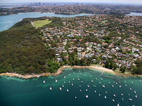 Balgowlah aerial view
