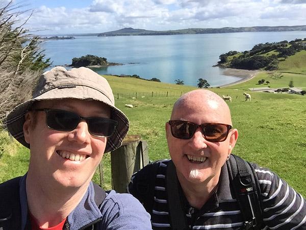 Global Wanderers on Waiheke Island, New Zealand