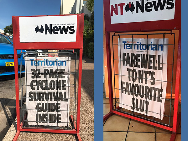 NT News Headlines in Darwin