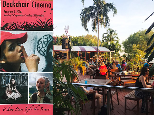 Deckchair Cinema in Darwin Northern Territory