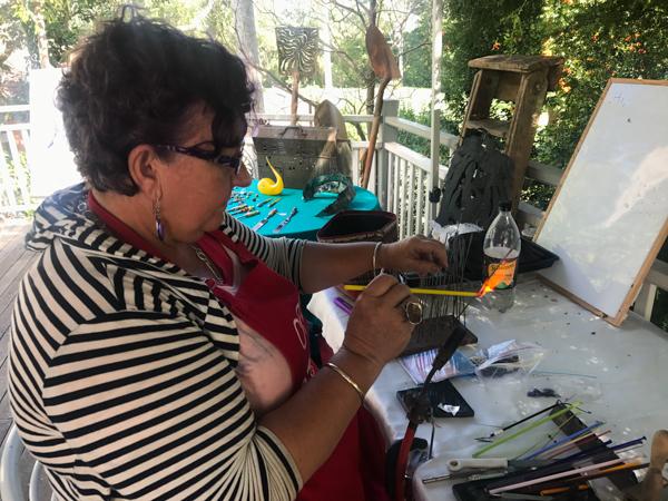 Jenny Lavender Glass Artist