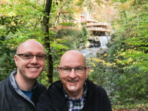 Fallingwater Andrew and Christopher
