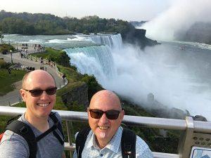 Global Wanderers visiting Niagara Falls