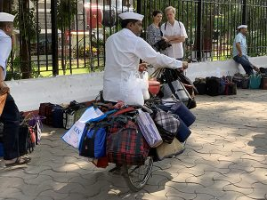Dabbawalas in Mumbai, India