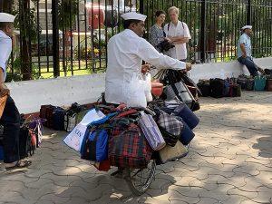 Dabbawalas in Mumbai, India