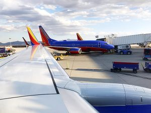 Southwest Airplanes in Las Vegas